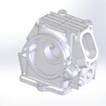 GAGをビモータSB6レプリカに_足回りの設計20、部品達を3D図起こし10